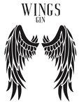 Logotipo de Wing Destilaria