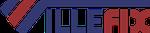 Logotipo de villefix artefatos metálicos