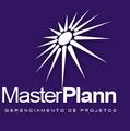 Logotipo de masterplann arquitetura e construção