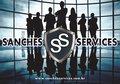 Logotipo de Sanches Services
