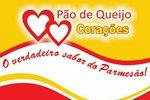 Logotipo de Pão de Queijo Corações