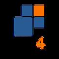 Logotipo de WB4  Negócios Digitais
