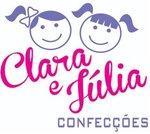 Logotipo de Clara e Julia Confecções